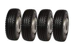215/75x17.5 Tyre & Rim 8std remould